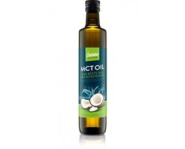 MCT-Öl 500ml aus 100% Kokos-Öl geschmacksneutral - Vegan geeignet für Bulletproof Coffee I Caprinsäure C-10 I Caprylsäure C-8